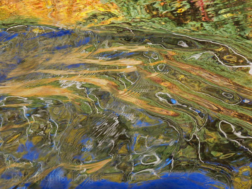 Reflections In Water, Ric Evoy Rictographs Images,