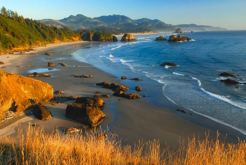 Crescent Beach at Sunset