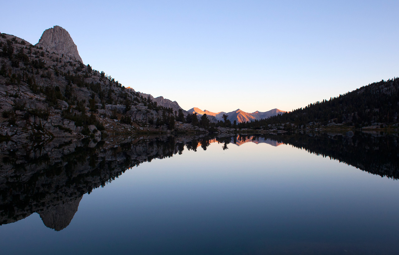 Upper Rae Lake, Kings Canyon NP - September 2011
