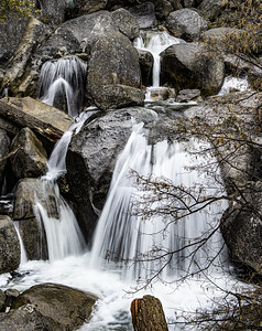 Cascade Falls, Yosemite Valley