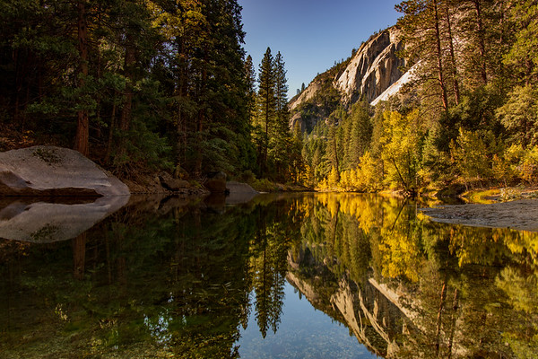 Reflection in Merced River