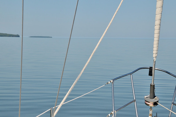 Still water on Lake Superior