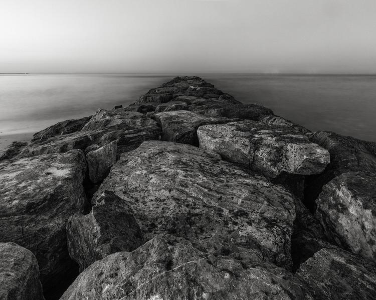rock jetty