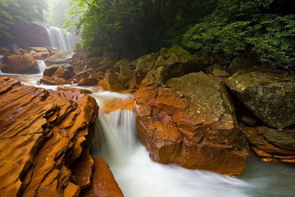 Douglass Falls, West Virginia