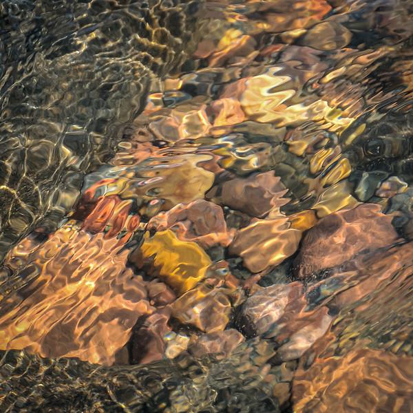 Shoreline rocks as abstract art #2