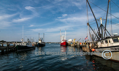 Fishing boats in Provincetown