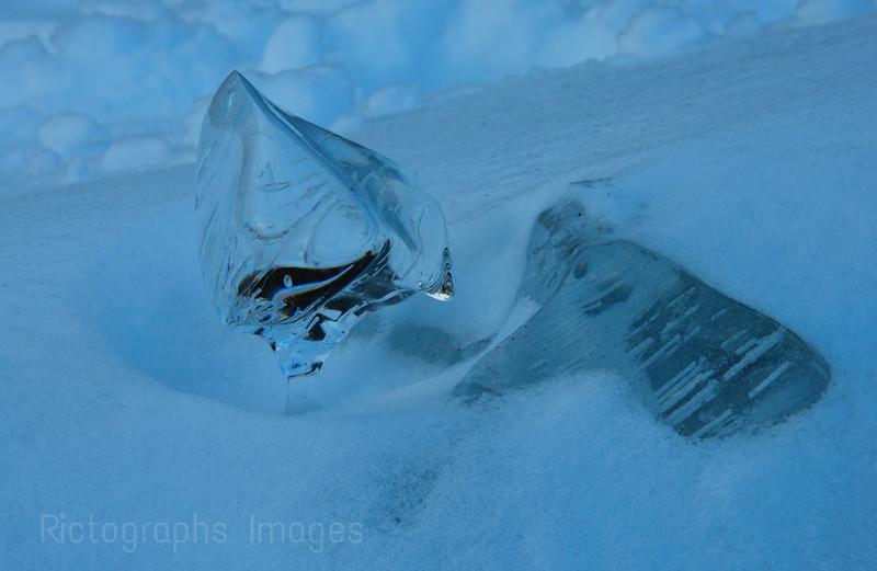 Ice & Snow, Winter Landscape, Lake Superior, Terrace Bay, Ontario, Canada
