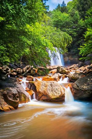 Douglas Waterfalls - Thomas, West Virginia