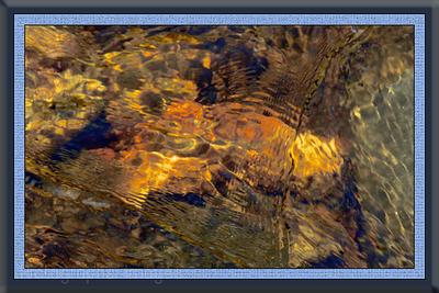 Beautiful Water Art Abstaction