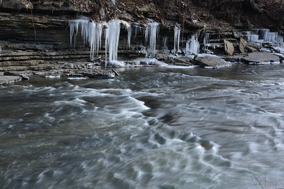 Icy Banks of Salt Creek