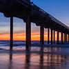 Scripps Pier Afterglow