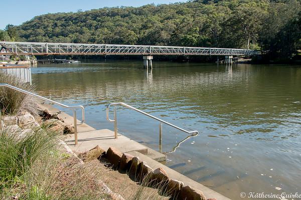 Down River at Woronora River
