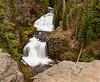 Double Falls on Tumalo Creek