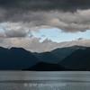 Break in the storm over Lake Como