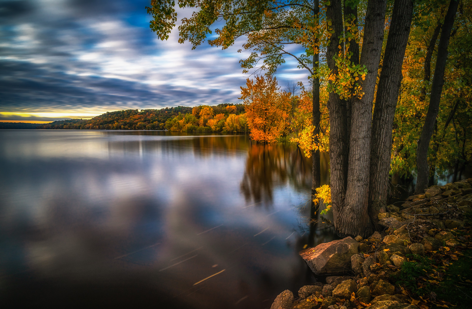 Autumn along the St. Croix.