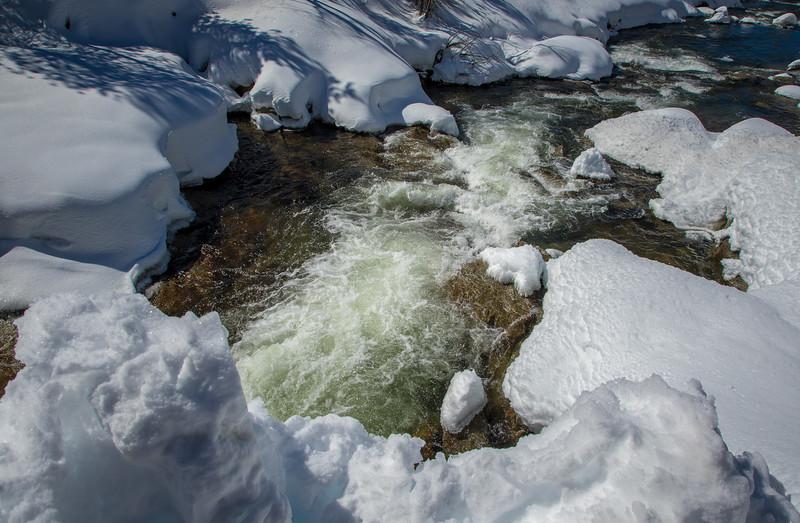 Yuba River Snow