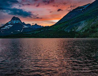 Swiftwater Lake, Glacier NP