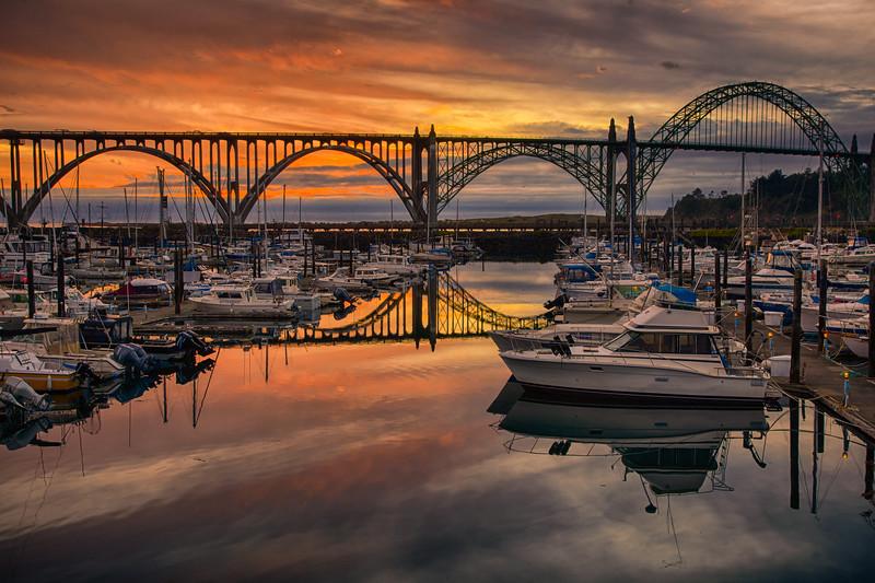 Newport Oregon Marina
