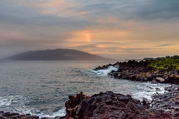 Morning Rainbow in Maui