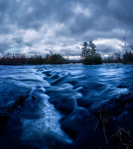 Moody Blues over Blakeney Rapids