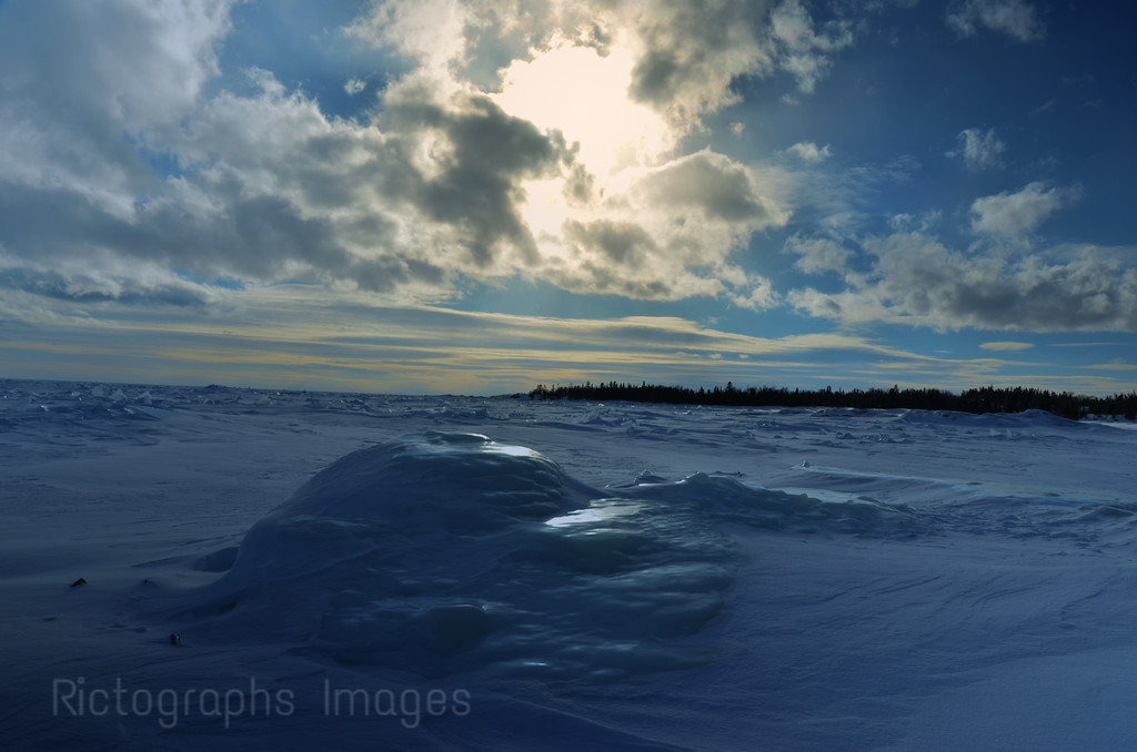 The Big Lake at the Beach in Terrace Bay, Ontario, Canada