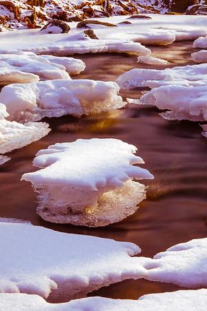 Gunpowder River - Sawmill Branch Ice