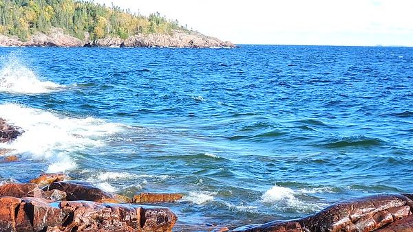 Lake Superior Waves, 2017, Rictographsimages  (12)