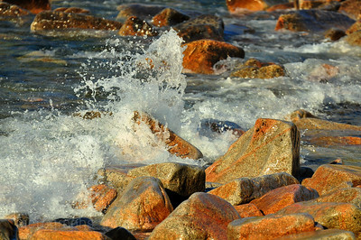 Beautiful, Pristene Coastlines, Lake Superior Waters and Waves Sculpting the North Shore of Lake Superior