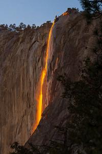 Horsetail Falls  - Fire Fall Effect (Feb 2021)