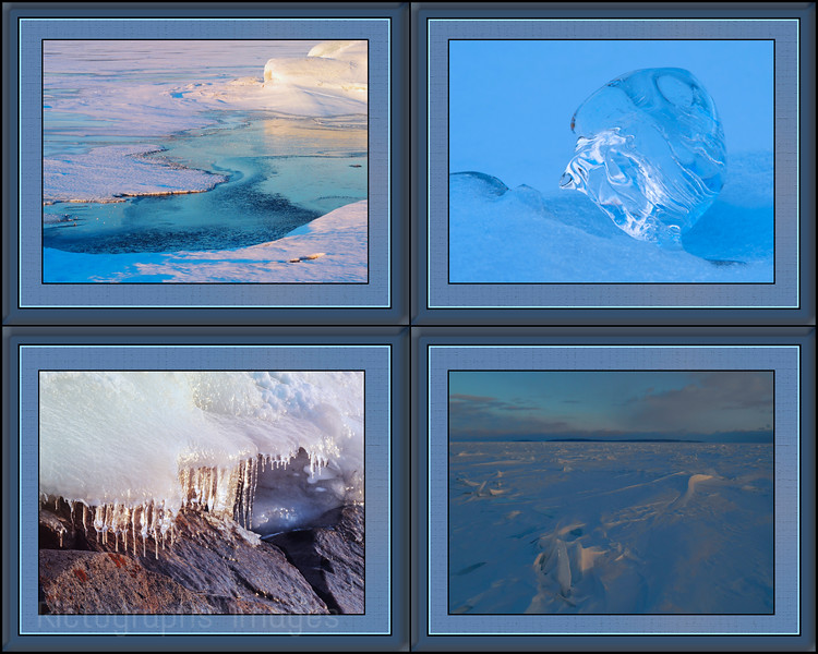 Winter, Ice, Rictographs images