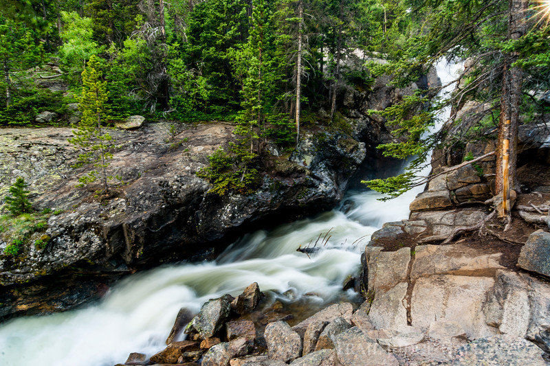 Chasm Falls In Spring