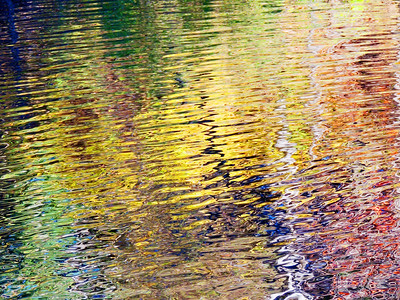 Fall Color Reflections In The MacIntyre River