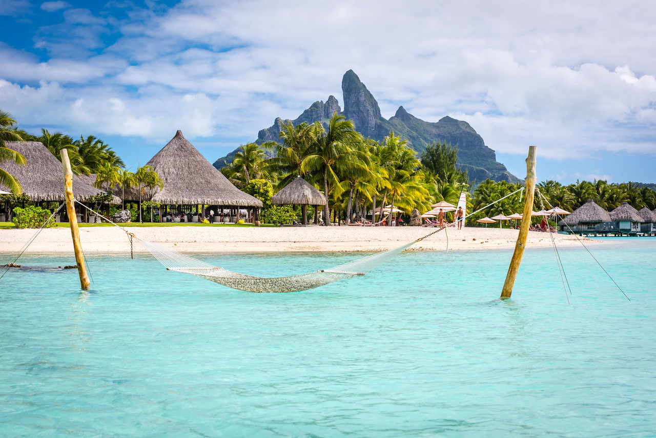 Relaxing in Tahiti
