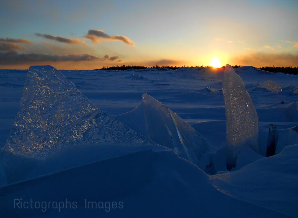 Lake Superior's Hard Water Ice & Snow