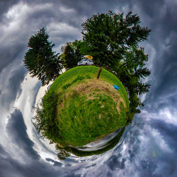 Speedwell Forge Tiny Planet