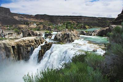Shoshone Falls - Natures Symphony