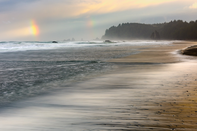 Stormy Morning at Rialto Beach