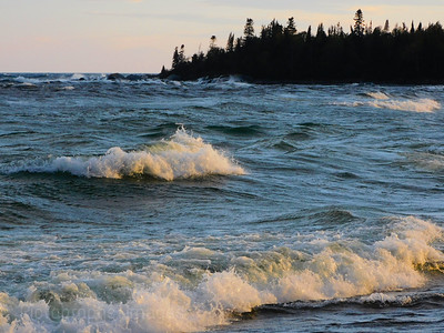 Wavy Lake Superior, 2021