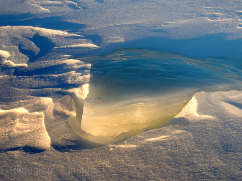 Winter Nature Snow Ice Art, Lake Superior