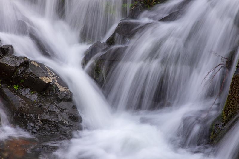 Seasonal Waterfall - Yankee Jim's Rd