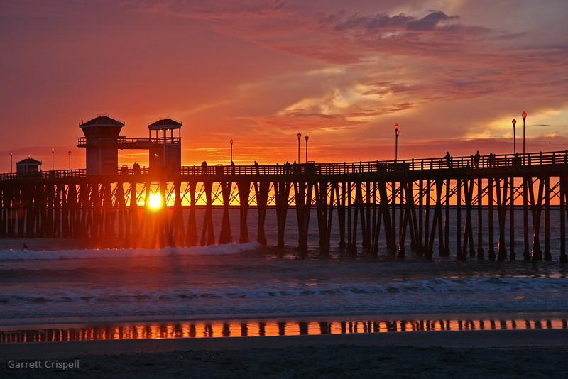 Oceanside Sunset I