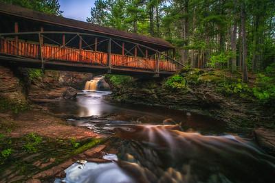 Amnicon Falls Bridge