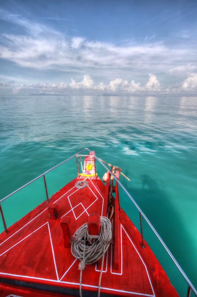 Last boat to Ang Thong Marine National Park!