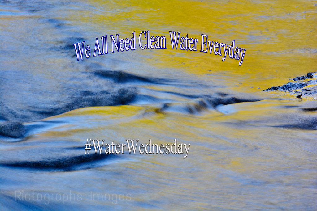 Water Flows, Downhill, WaterWednesday, Photo, Quote, Rictographs Images