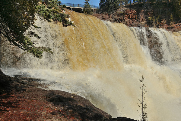 Gooseberry Falls, March