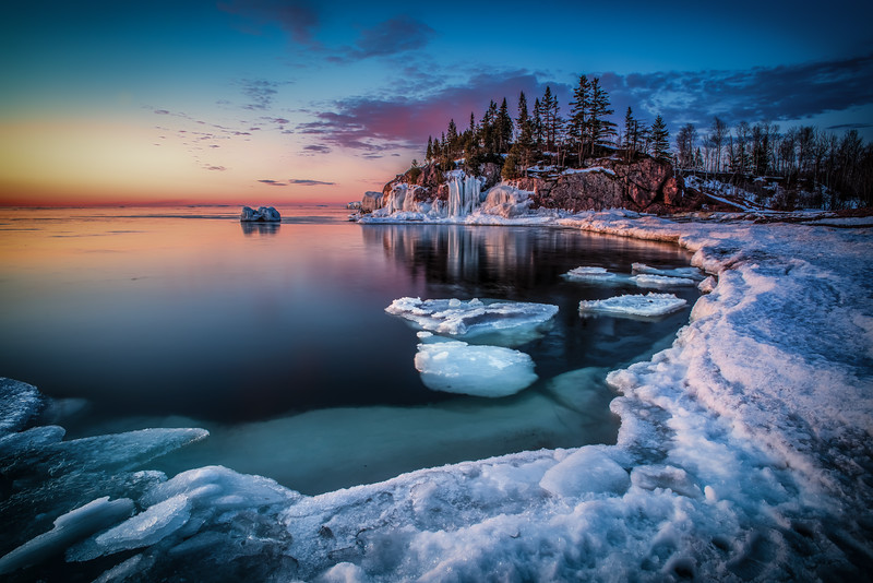 Stillness in Silver Bay