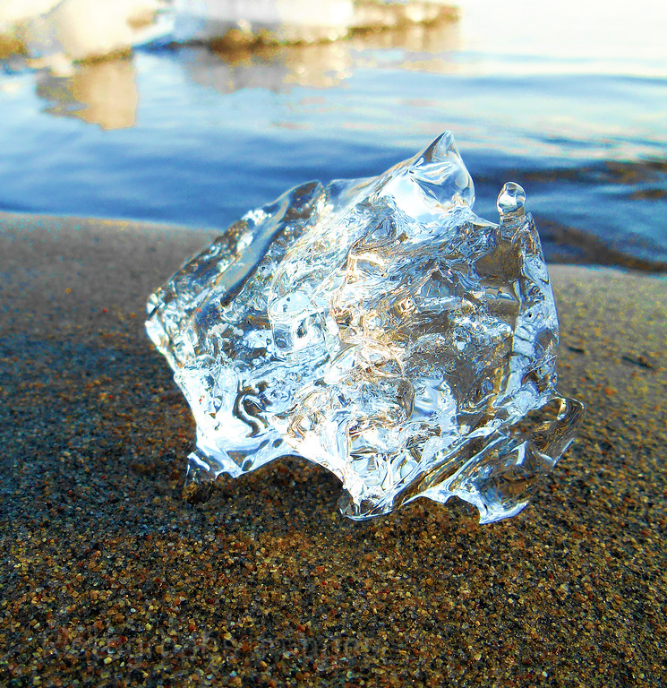 Hard Lake Superior BlueWater Ice