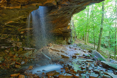 Glory Hole Falls, Ark.
