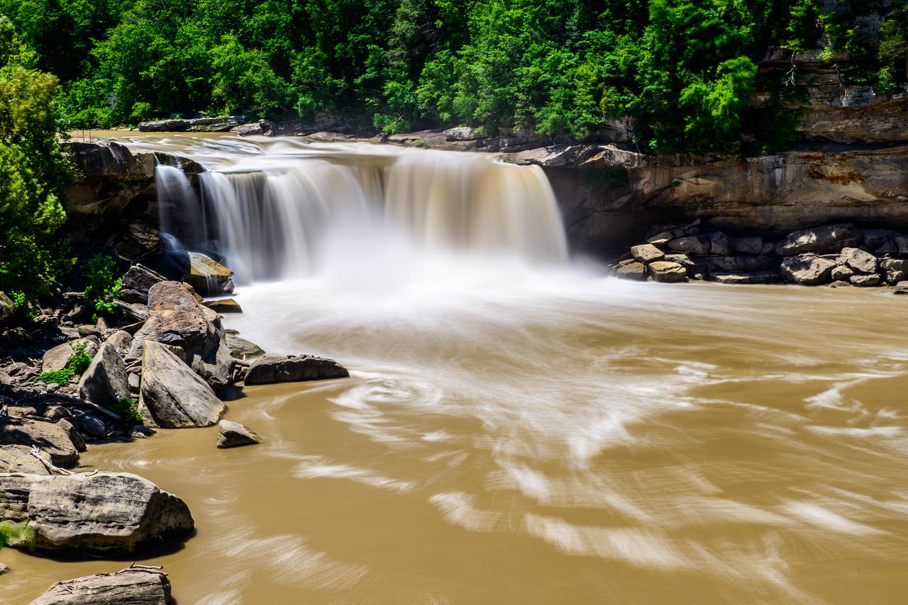 Smooth as Silk -- Cumberland Falls