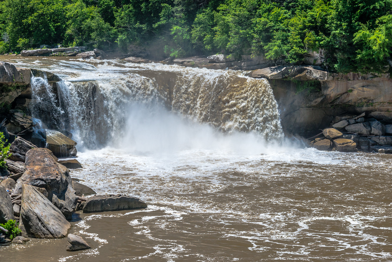 Rough Waters at Cumberland Falls